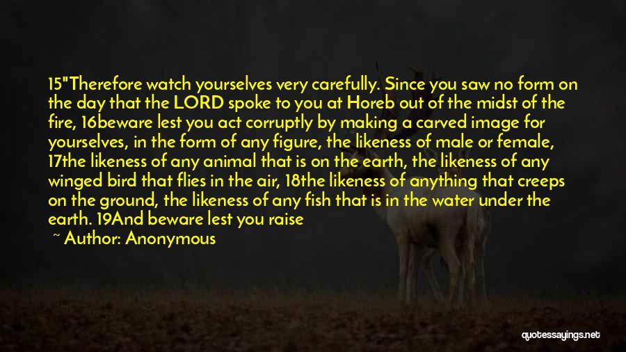 Earth Air Fire Water Quotes By Anonymous