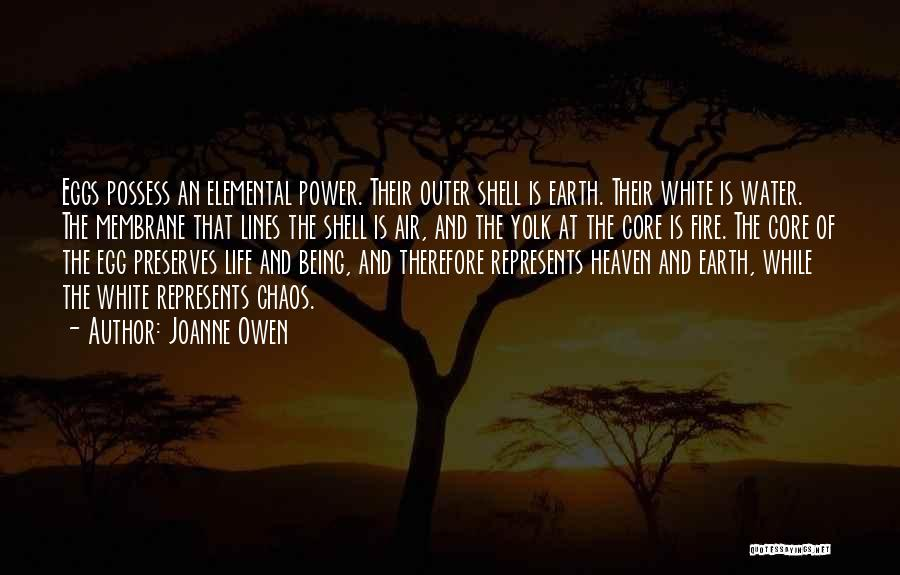 Earth Air Fire Water Quotes By Joanne Owen