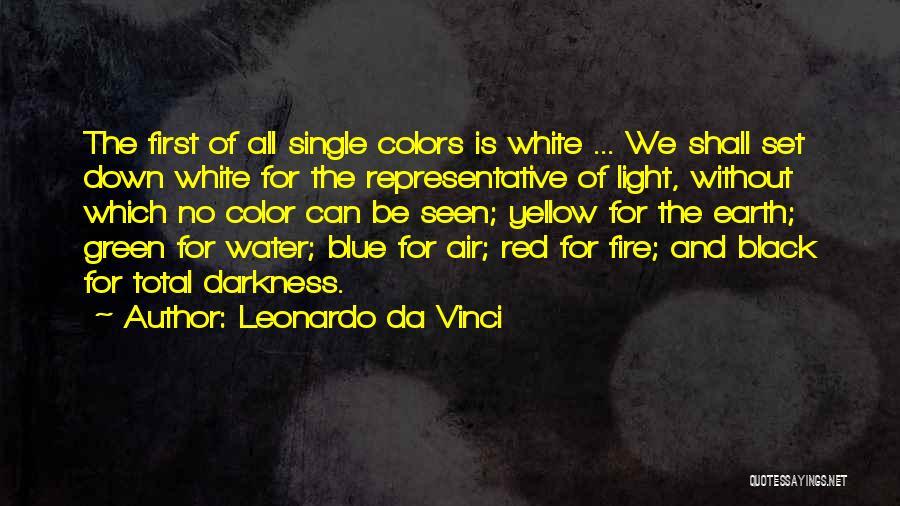 Earth Air Fire Water Quotes By Leonardo Da Vinci