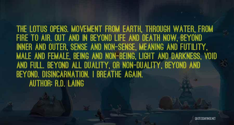 Earth Air Fire Water Quotes By R.D. Laing
