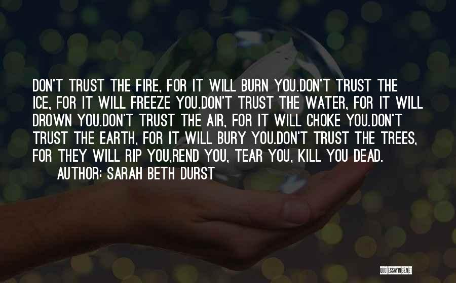 Earth Air Fire Water Quotes By Sarah Beth Durst
