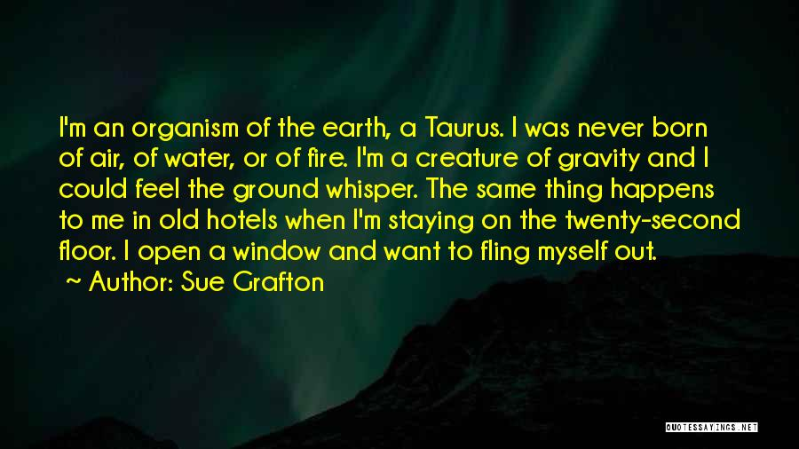 Earth Air Fire Water Quotes By Sue Grafton