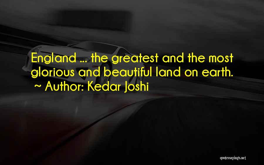 Earth And Beauty Quotes By Kedar Joshi