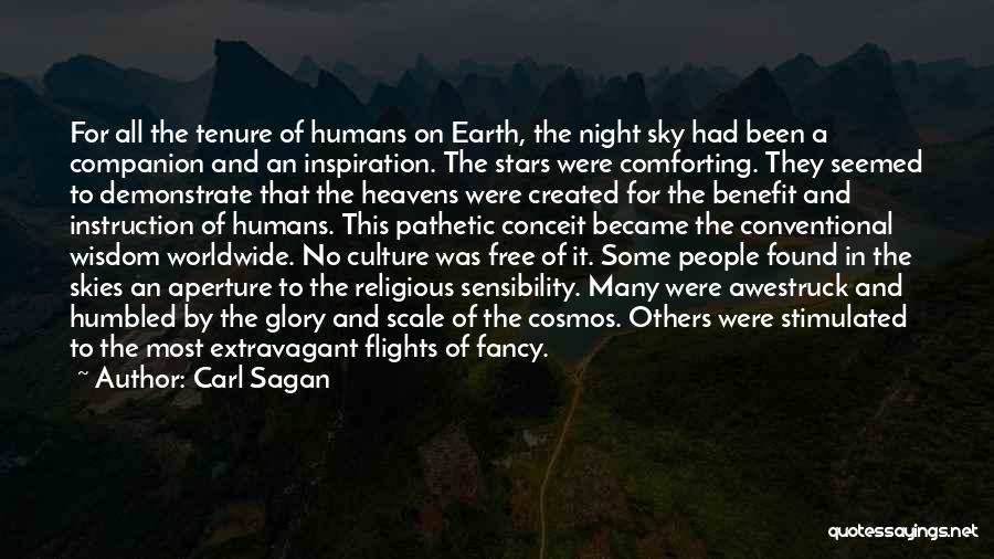 Earth And Humans Quotes By Carl Sagan