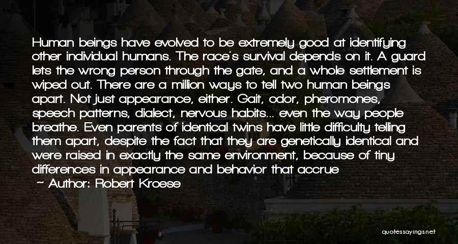 Earth And Humans Quotes By Robert Kroese