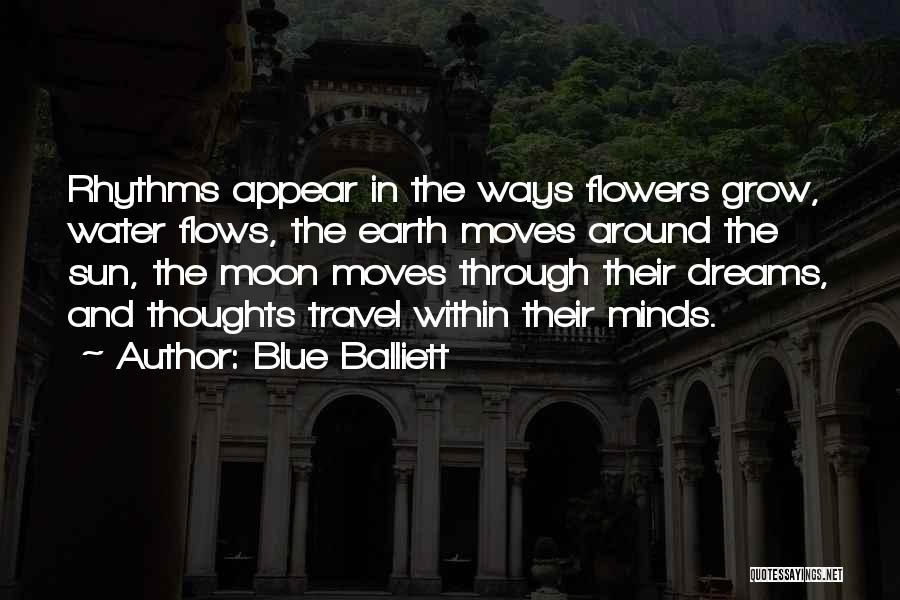 Earth And Moon Quotes By Blue Balliett
