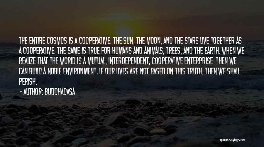 Earth And Moon Quotes By Buddhadasa
