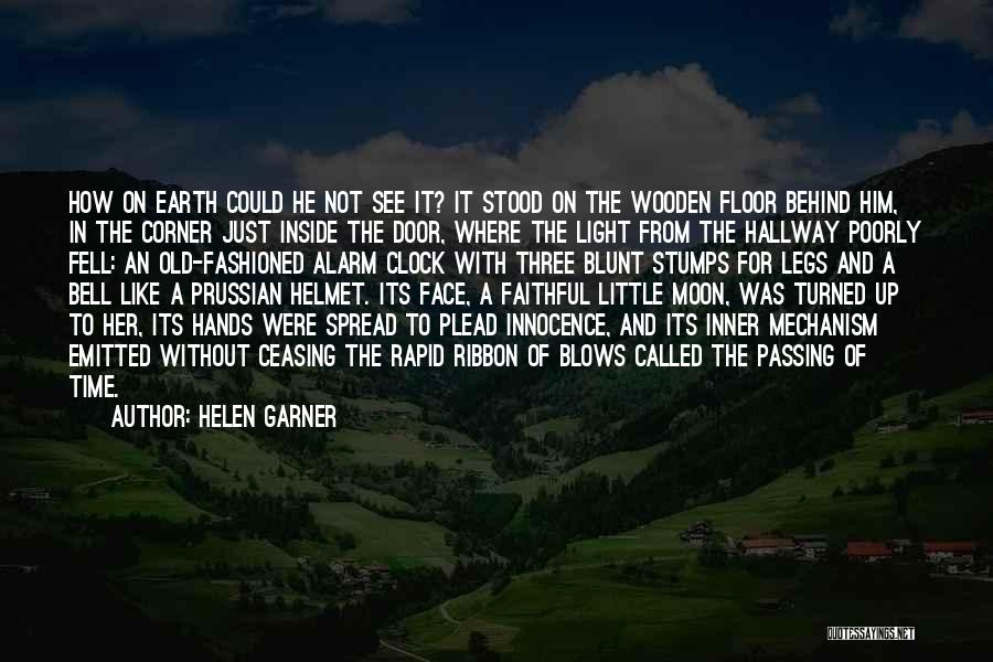 Earth And Moon Quotes By Helen Garner