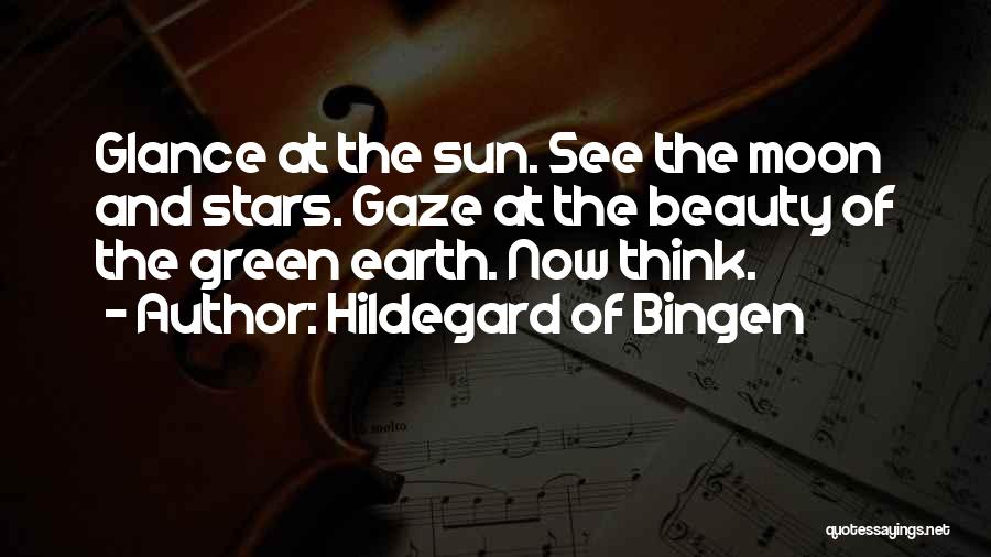 Earth And Moon Quotes By Hildegard Of Bingen