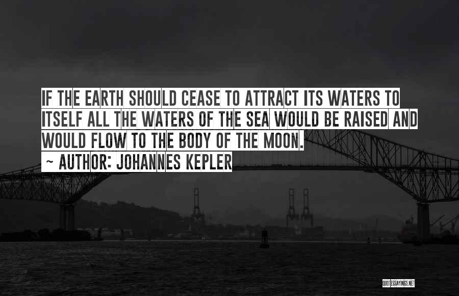 Earth And Moon Quotes By Johannes Kepler