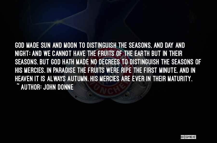 Earth And Moon Quotes By John Donne