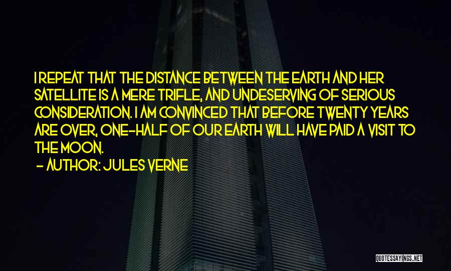 Earth And Moon Quotes By Jules Verne