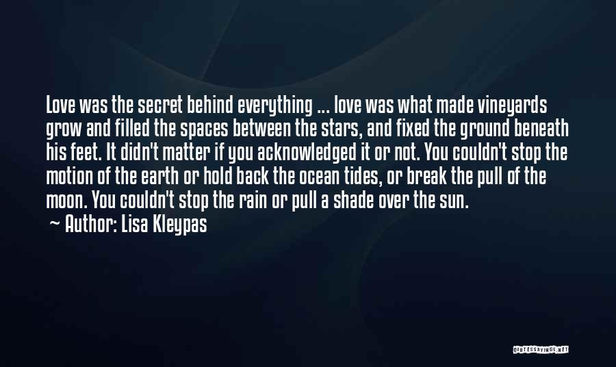 Earth And Moon Quotes By Lisa Kleypas