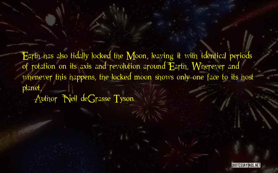 Earth And Moon Quotes By Neil DeGrasse Tyson