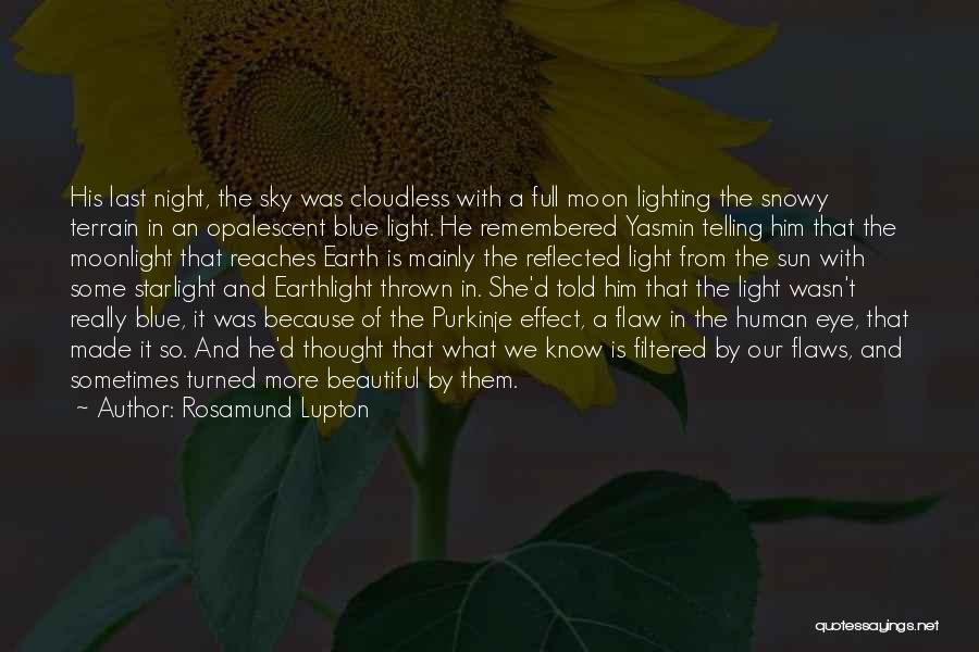 Earth And Moon Quotes By Rosamund Lupton