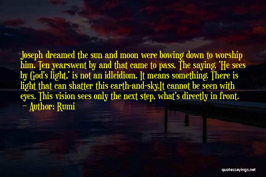 Earth And Moon Quotes By Rumi