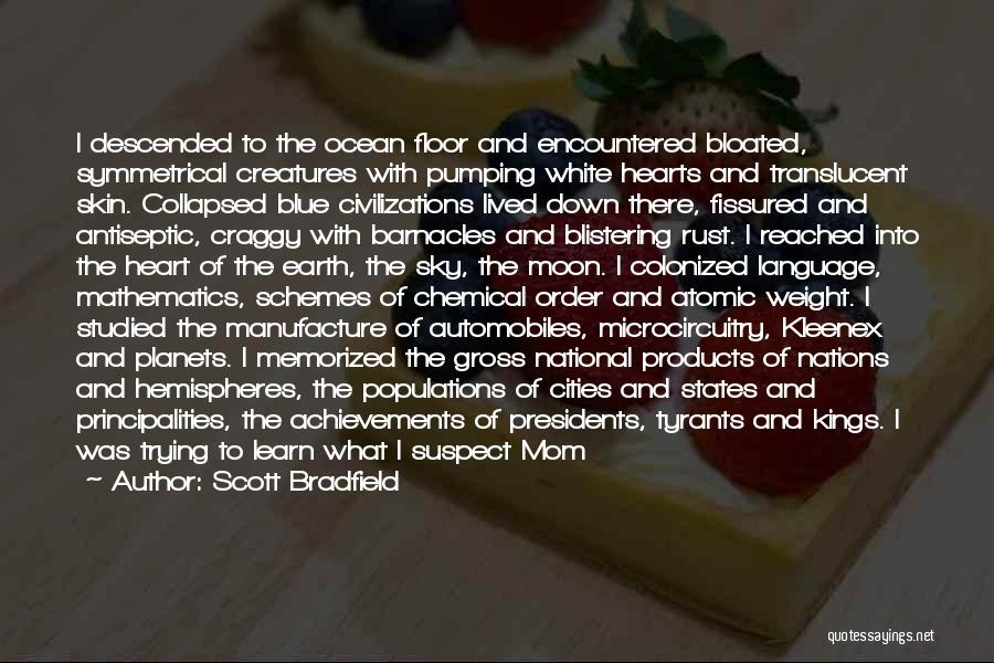 Earth And Moon Quotes By Scott Bradfield