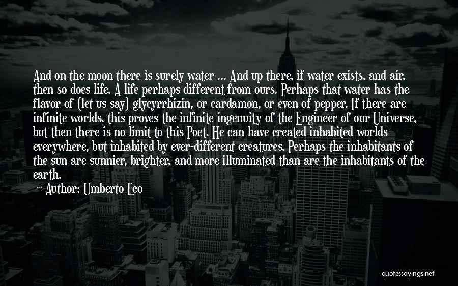 Earth And Moon Quotes By Umberto Eco