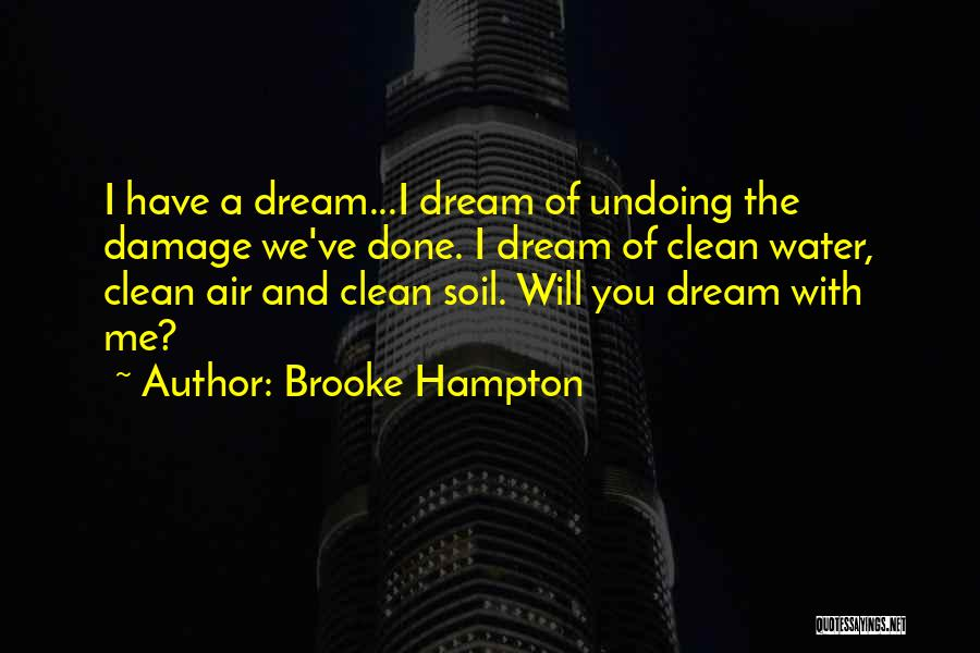 Earth Soil Quotes By Brooke Hampton