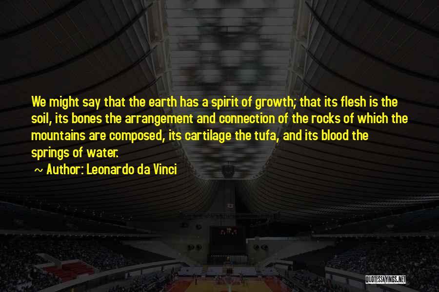Earth Soil Quotes By Leonardo Da Vinci