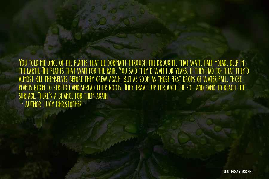 Earth Soil Quotes By Lucy Christopher