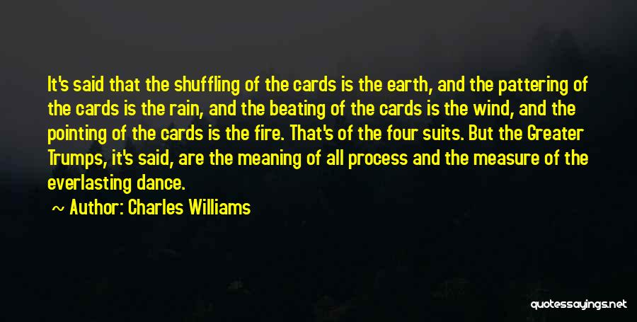 Earth Wind Fire Quotes By Charles Williams