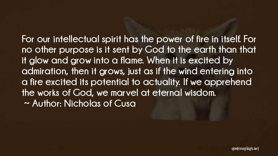Earth Wind Fire Quotes By Nicholas Of Cusa