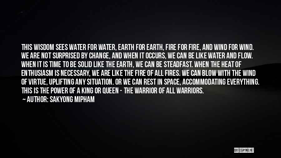 Earth Wind Fire Quotes By Sakyong Mipham
