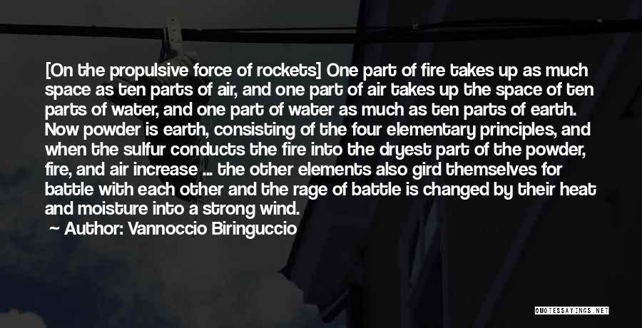 Earth Wind Fire Quotes By Vannoccio Biringuccio