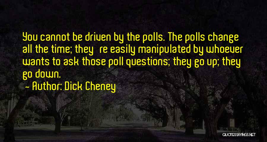 Easily Manipulated Quotes By Dick Cheney