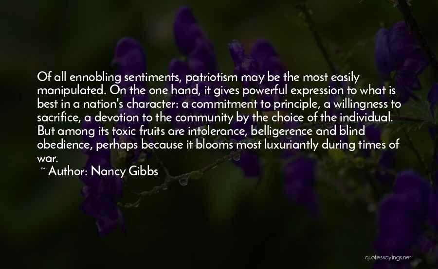 Easily Manipulated Quotes By Nancy Gibbs
