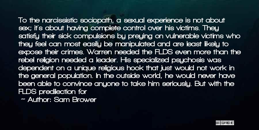 Easily Manipulated Quotes By Sam Brower
