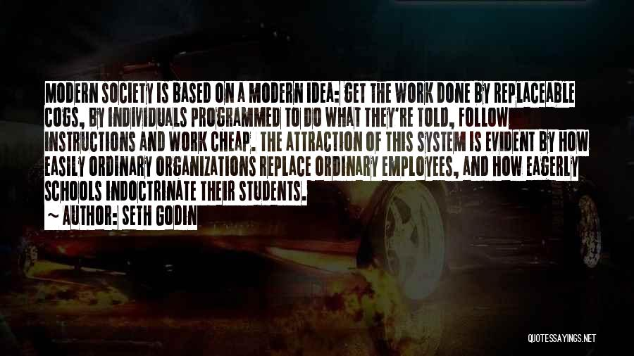 Easily Replaceable Quotes By Seth Godin