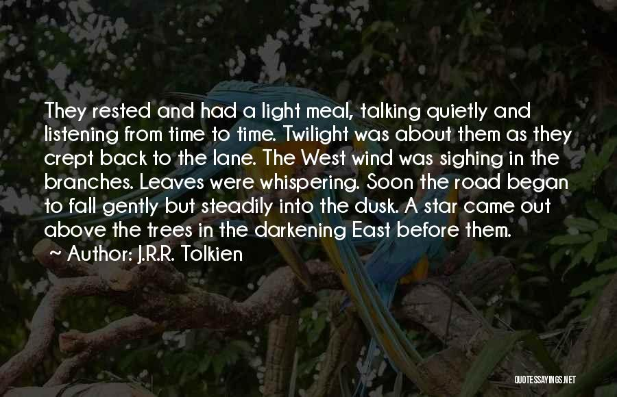 East Wind West Wind Quotes By J.R.R. Tolkien