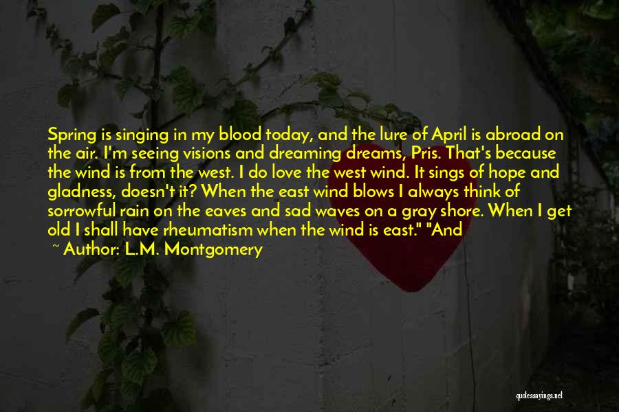 East Wind West Wind Quotes By L.M. Montgomery