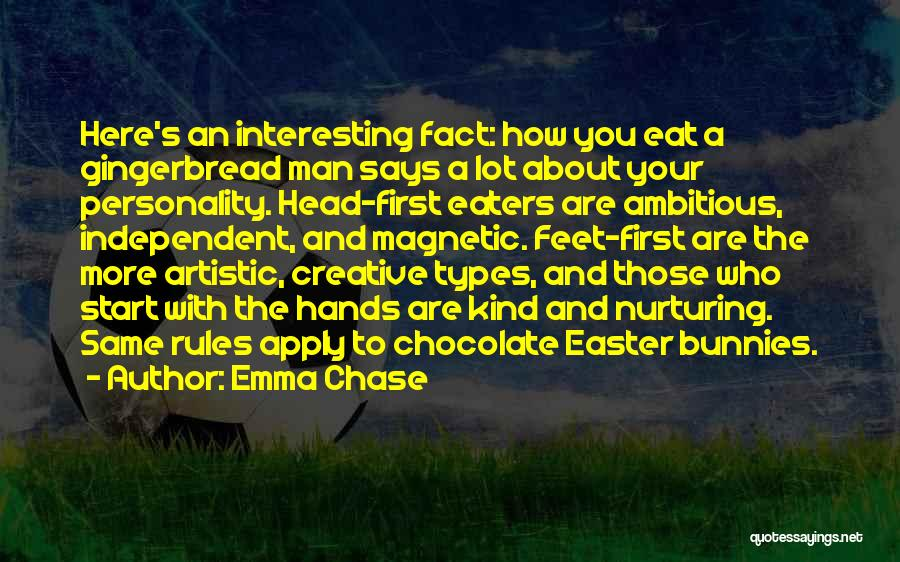 Easter Chocolate Quotes By Emma Chase