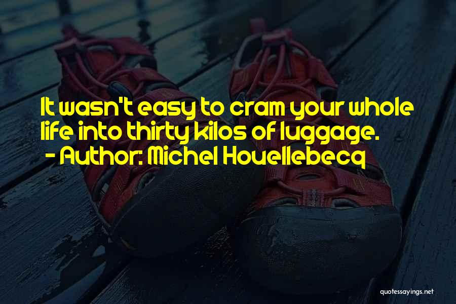 Easy Life Quotes By Michel Houellebecq