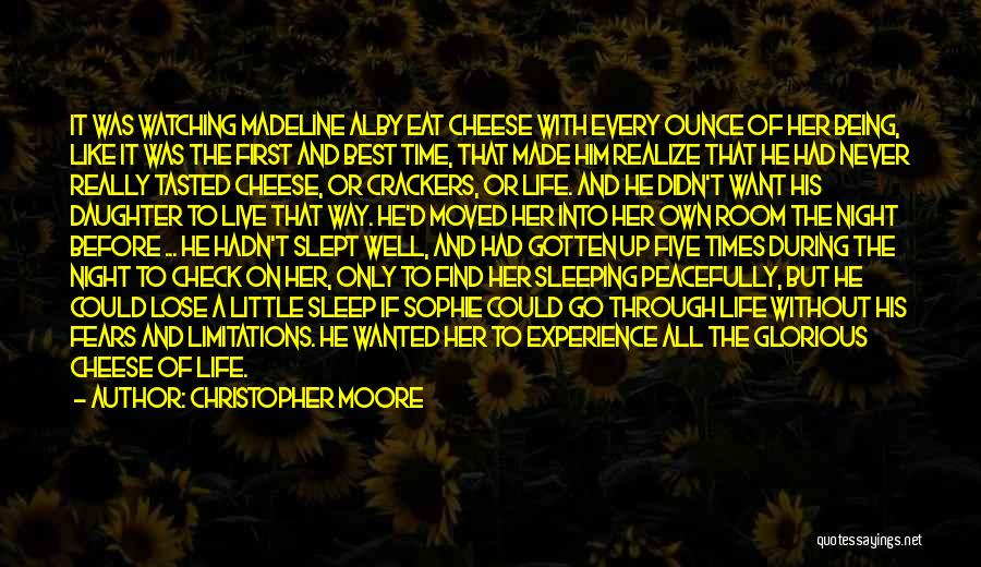 Eat Well Sleep Well Quotes By Christopher Moore