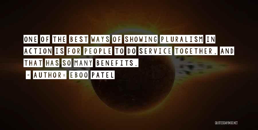 Eboo Patel Quotes 235523