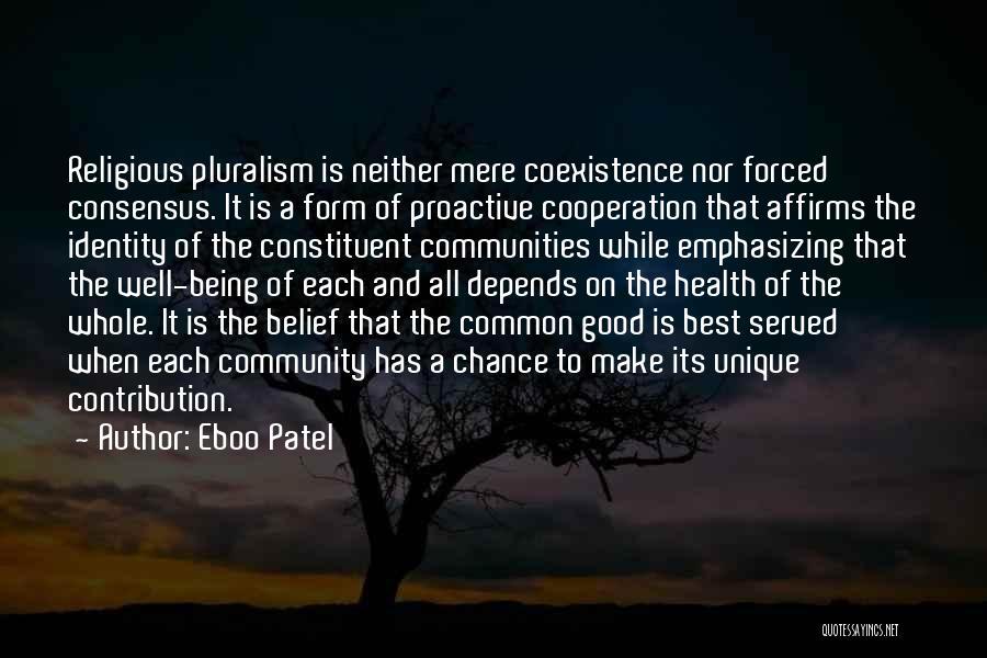 Eboo Patel Quotes 611947