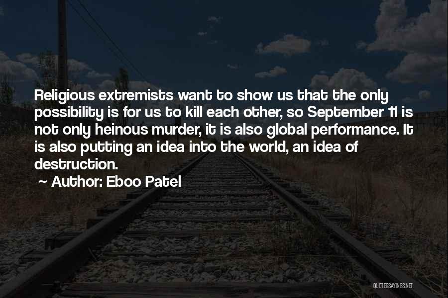 Eboo Patel Quotes 97813
