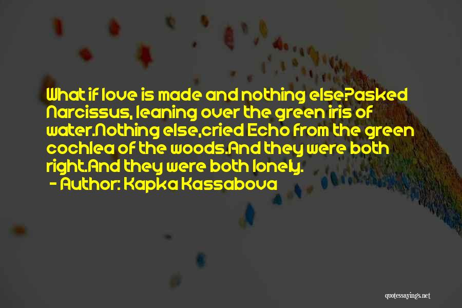 Echo And Narcissus Quotes By Kapka Kassabova