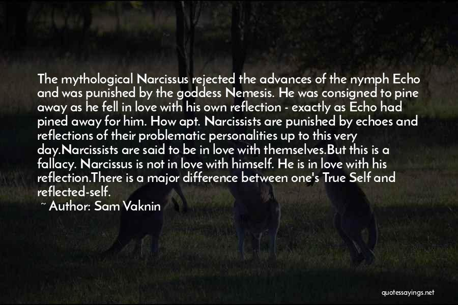 Echo And Narcissus Quotes By Sam Vaknin