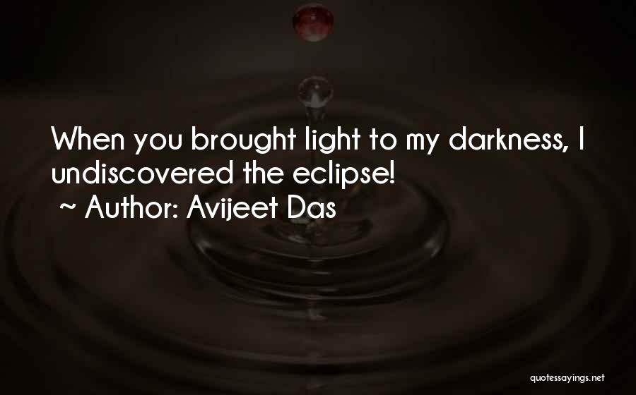Eclipse Moon Quotes By Avijeet Das