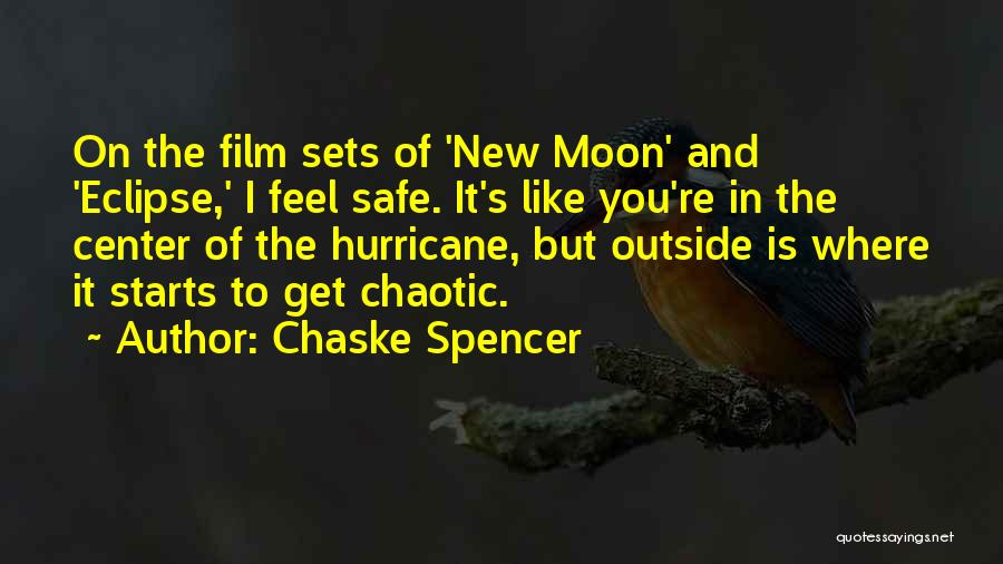 Eclipse Moon Quotes By Chaske Spencer