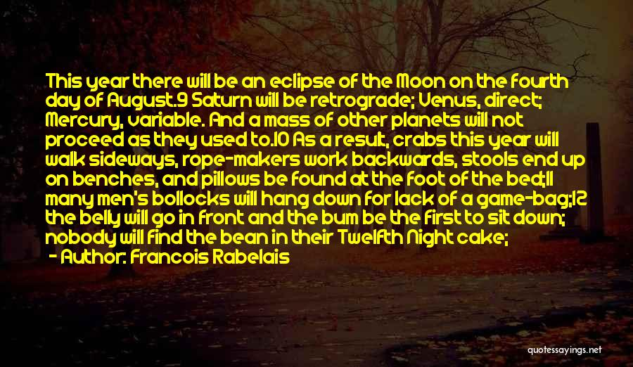 Eclipse Moon Quotes By Francois Rabelais
