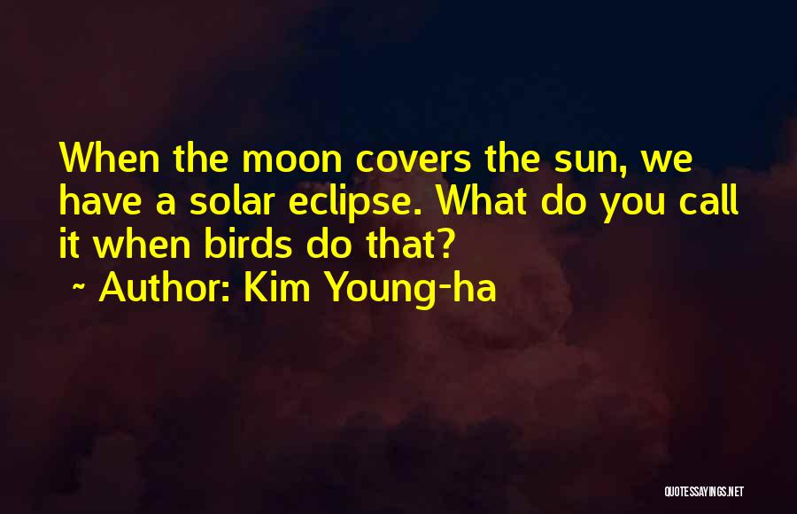 Eclipse Moon Quotes By Kim Young-ha