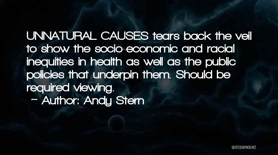 Economic Policies Quotes By Andy Stern