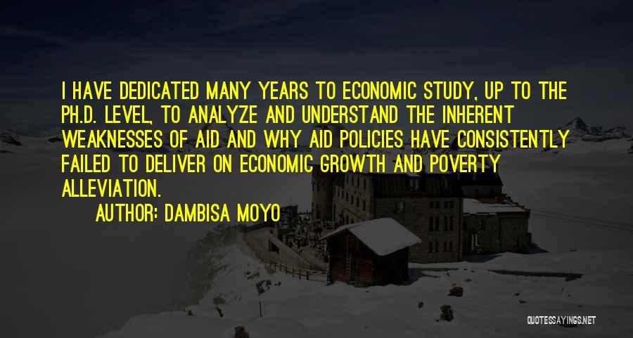 Economic Policies Quotes By Dambisa Moyo