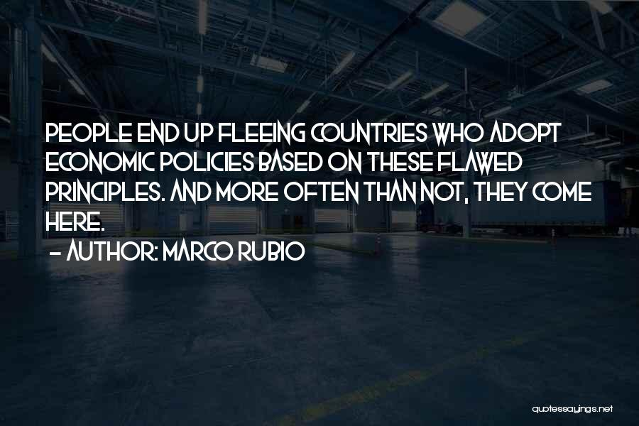Economic Policies Quotes By Marco Rubio
